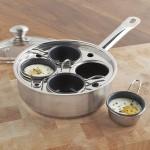 egg poacher pan