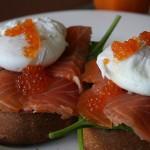 salmon poached egg recipe